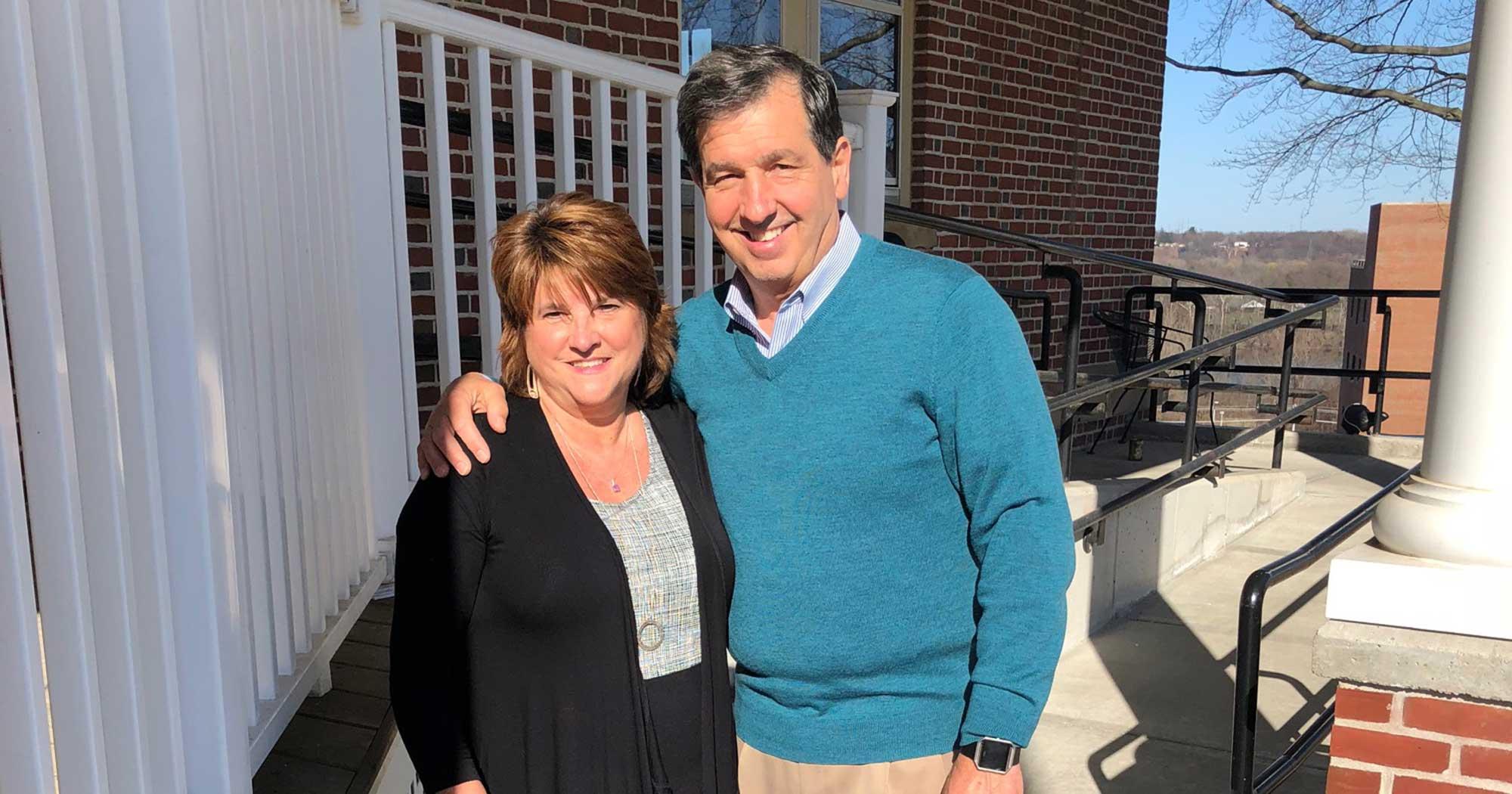 Meet Jeannie and Mike Filomeno