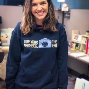 Love Your Neighbor Hooded Sweatshirt
